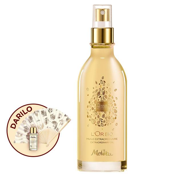 Naravno Izjemno zlato olje za obraz, telo in lase