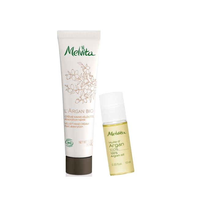 Duo crème mains et roll-on à l'argan bio