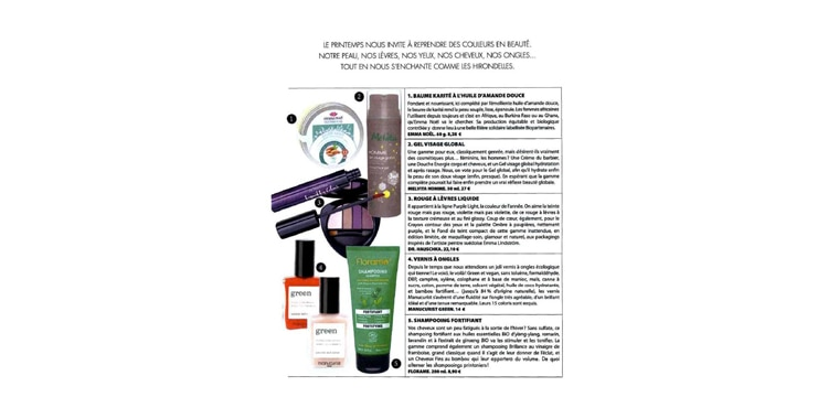 Soin visage global homme TOP NATURE - Mars 2018