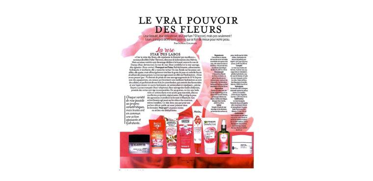 Soin repulpant éclat pulpe de roses VERSION FEMINA - Mars 2018