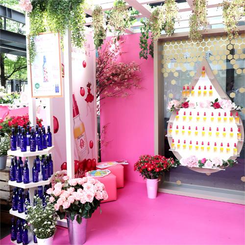 Melvita 蜜葳特粉紅玫瑰花屋
