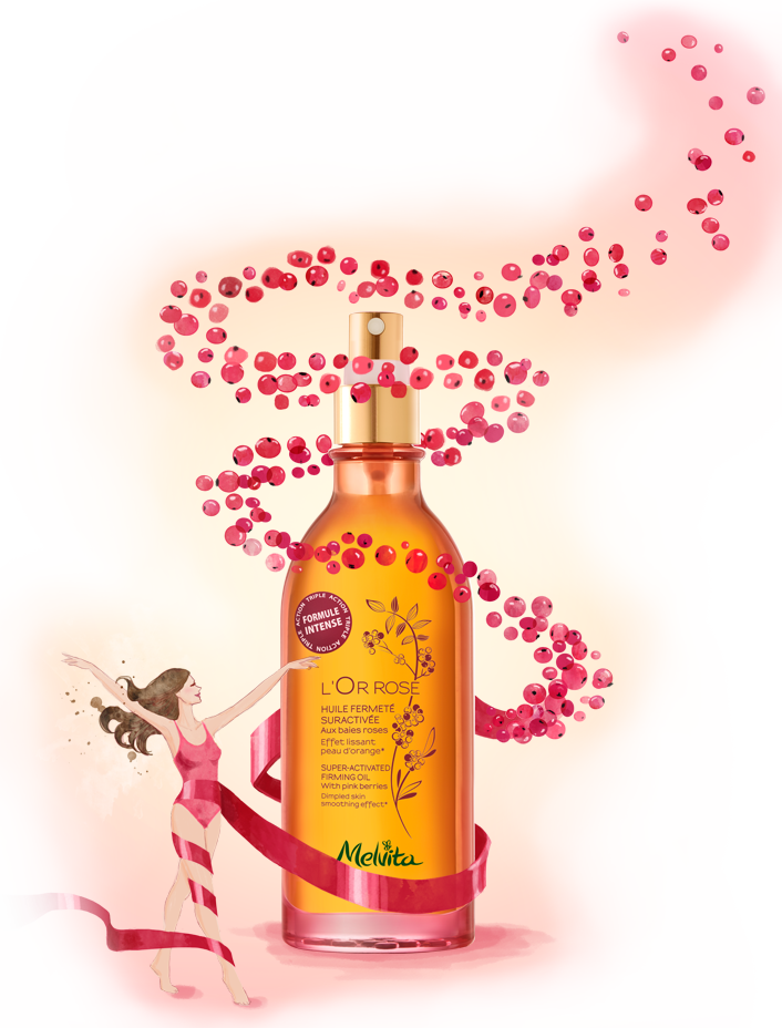 粉紅胡椒美體油全新上市