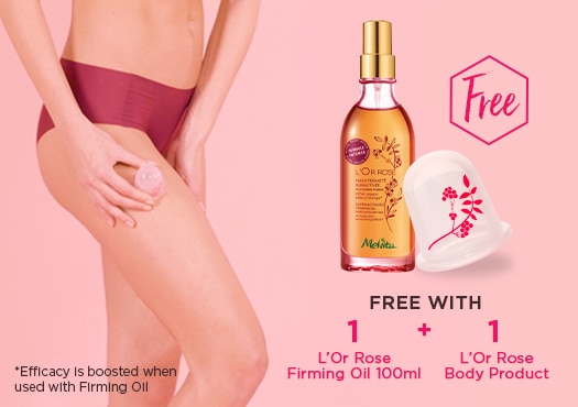 L'Or Rose Exclusive - Free Cellu Cup