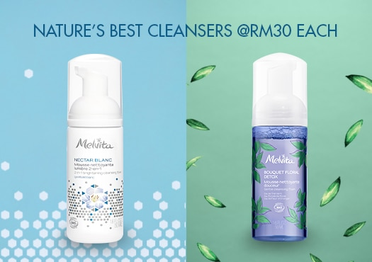 Get Mini Cleansers at only RM30 each!
