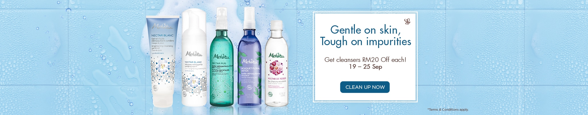 RM20 Off Cleansers