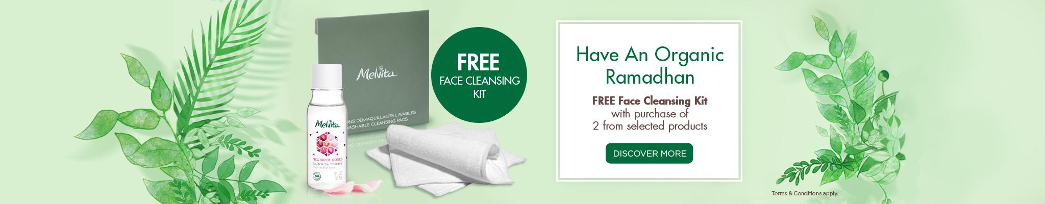 Free Cleansing Kit