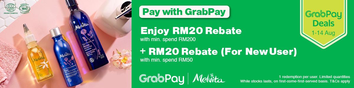 GrabPay RM20 Rebate
