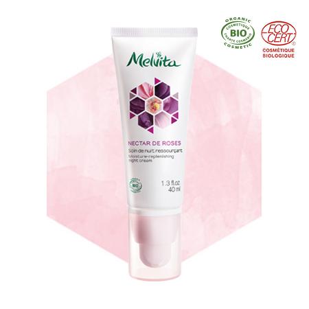 Moisture-replenishing night cream