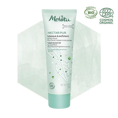 Maschera ed esfoliante bio - Effetto fango