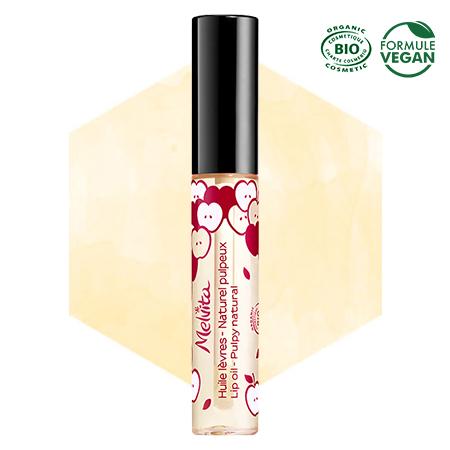 Olio per labbra naturale voluminoso Melvita