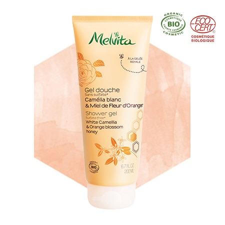 Organic Camellia and Orange Blossom Honey Shower Gel