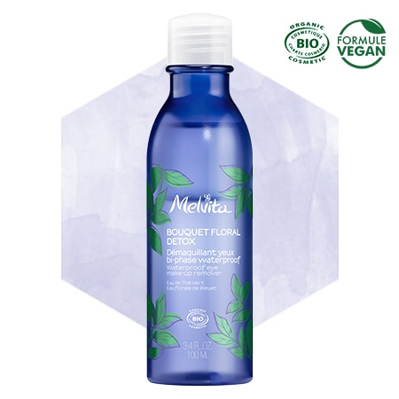 Melvita organic detox two-phase eye make-up remover