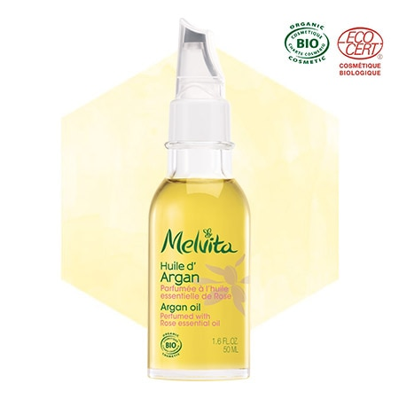 Organic Rose scented Argan Oil