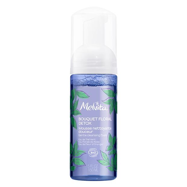mousse detergente detox bio Melvita