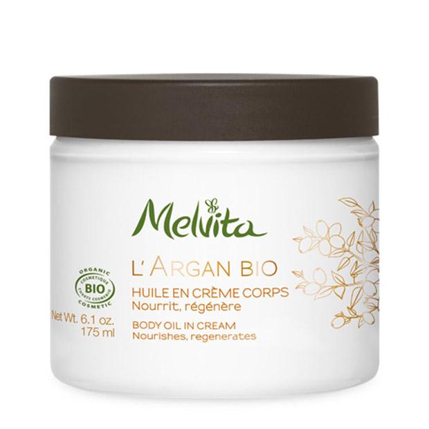 Organic Body Oil in Cream