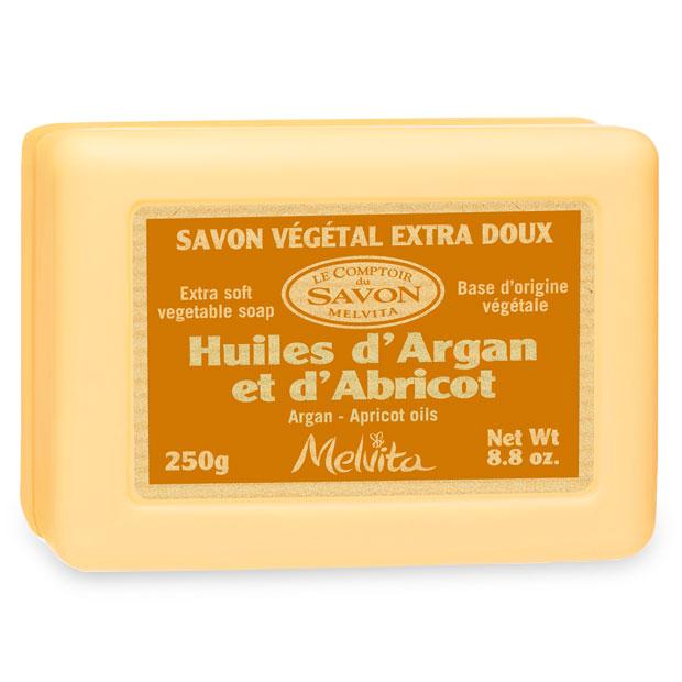 Sapone argan albicocca bio