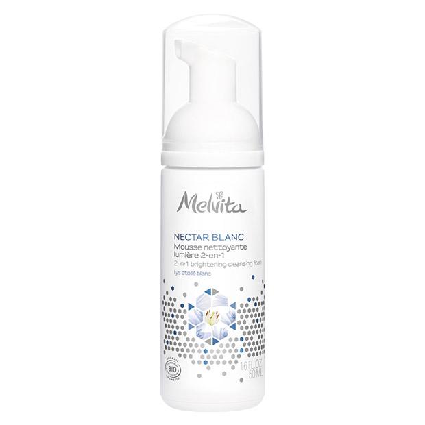 NECTAR BLANC Organic 2-in-1 Brightening Cleansing Foam