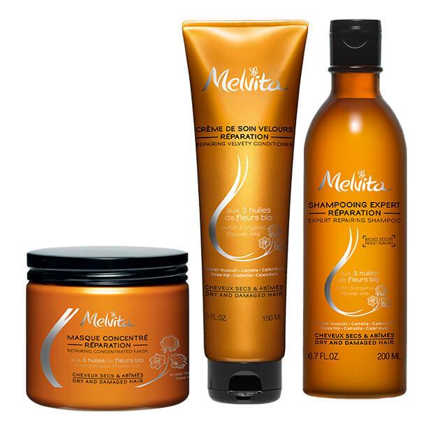 Set za njegu suhe i oštećene kose