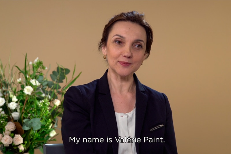 Interview with Valérie Paint
