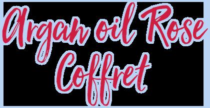 argan oil rose coffret