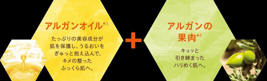 アルガンオイル+アルガンの果肉