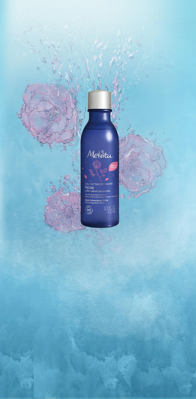 深く、うるおいの活力。新・ローズ化粧水